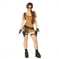 déguisement d'aventurière pour femme | jourdefete.com