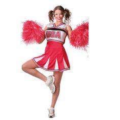 déguisement de cheerleader pour femme | jourdefete.com