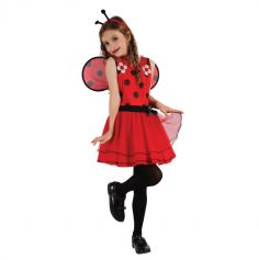 robe-coccinelle-deguisement-costume-fille-pas-cher | jourdefete.com