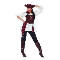 déguisement de corsaire redoutable femme | jourdefete.com