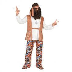 Déguisement de Hippie pour homme - Taille au Choix