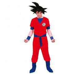 déguisement de manga rouge pour homme | jourdefete.com