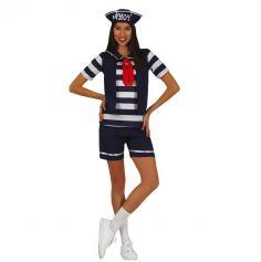 déguisement de marin 80's pour femme | jourdefete.com