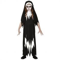 deguisement-nonne-fille-halloween-zombie | jourdefete.com
