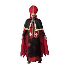 Déguisement de Pape ensanglanté pour Homme - Taille au Choix