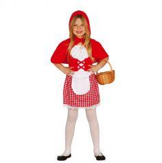 Déguisement de Petit Chaperon Rouge pour fille - Taille au Choix