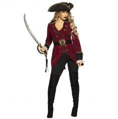 Déguisement de Pirate Hurricane pour femme - Taille au Choix