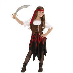 Déguisement de Pirate pour fille - Taille au Choix