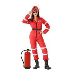 Déguisement de Pompier pour femme - Taille au Choix