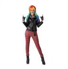 Déguisement de Punk pour femme - Taille au Choix