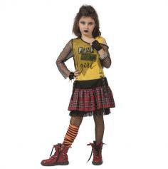 Déguisement de Punk pour fille - Taille au Choix