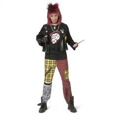 Déguisement de Punk pour homme - Taille au Choix