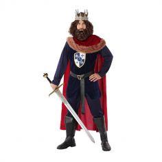 Déguisement de Roi Médiéval - Homme - Taille au Choix