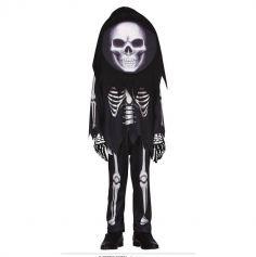 Déguisement de Squelette Grosse Tête pour enfant - Taille au Choix