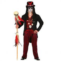 deguisement-vaudou-chaman-homme | jourdefete.com