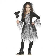 deguisement-fille-robe-zombie-fantome-halloween | jourdefete.com