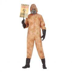 Déguisement de Zombie Radioactif pour homme - Taille au Choix