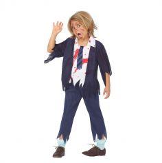 deguisement-ecolier-zombie-halloween | jourdefete.com
