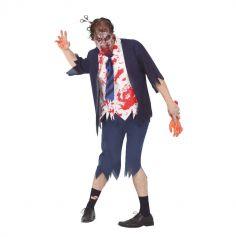 deguisement-zombie-ecolier-halloween | jourdefete.com