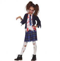 deguisement-ecoliere-zombie-halloween | jourdefete.com