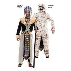 Déguisement Double Fun - Egyptien / Momie - Taille au Choix