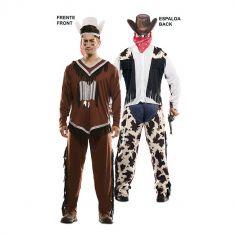 deguisement-double-indien-cowboy | jourdefete.com