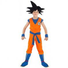 Déguisement Enfant – Dragon Ball Z -  Son Goku Saiyan - Taille au Choix| jourdefete.com