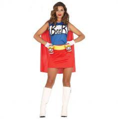 déguisement de beerwoman pour femme | jourdefete.com
