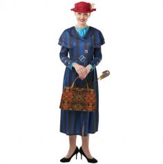 Déguisement Femme - Mary Poppins - Le Retour de Mary Poppins - Taille au Choix | jourdefete.com