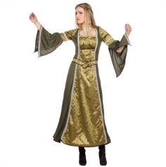 Déguisement Femme - Robe de Châtelaine Médiévale - Taille au Choix | jourdefete.com