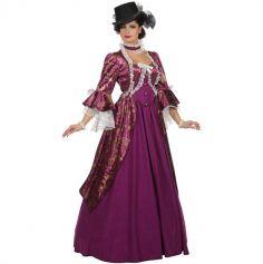 Déguisement Femme - Robe de Marquise - Violet - Taille au Choix | jourdefete.com