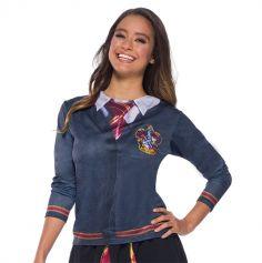 Déguisement Femme - T-Shirt - Harry Potter - Gryffondor - Taille au Choix | jourdefete.com