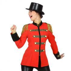 Déguisement Femme - Veste Circus - Taille au Choix | jourdefete.com