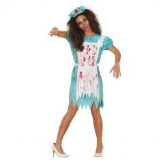 halloween-deguisement-zombie-infirmiere | jourdefete.com