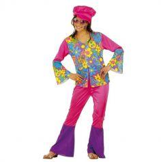 déguisement hippie pour fille