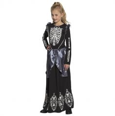 costume-fille-halloween-squelette | jourdefete.com