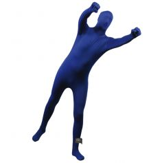 Déguisement FrottMan Bleu les bras étendus