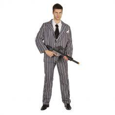 Déguisement Gangster Samy Homme - Dreamiz ®
