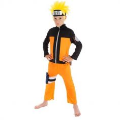 Déguisement Garçon - Naruto Shippuden - Naruto - Taille au Choix | jourdefete.com
