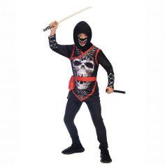 ninja-zombie-squelette-halloween | jourdefete.com