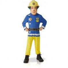 Déguisement Garçon - Sam le Pompier - Taille au Choix | jourdefete.com