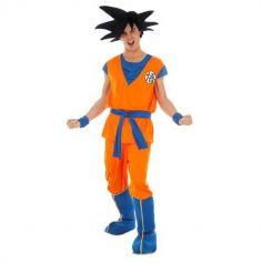 Déguisement Homme – Dragon Ball Z - Son Goku Saiyan - Taille au Choix | jourdefete.com