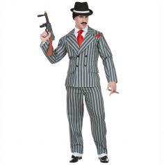Déguisement Homme – Gangster Mr. Addams – Taille au Choix | Jourdefete.com