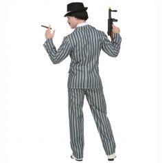 Déguisement Homme – Gangster Mr. Addams – Taille au Choix