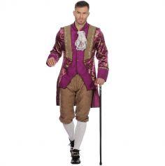 Déguisement Homme - Marquis Violet - Taille au Choix | jourdefete.com