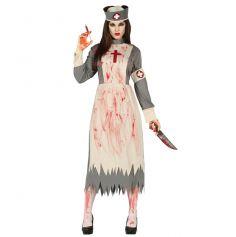 Déguisement Halloween d' Infirmière Zombie
