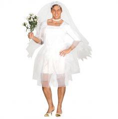 déguisement mariée pour homme | jourdefete.com