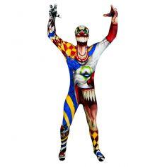 Déguisement Morphsuits clown tueur adulte