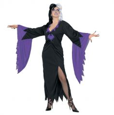 Déguisement Morticia Addams - Costume Halloween Femme