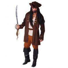 déguisement de pirate avec chapeau pour homme | jourdefete.com
